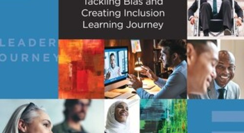 Tackling Bias and Creating Inclusion Learning Journey 2021