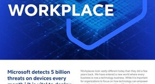 Cognizant MBG GO Secure Workplace 2021 Flyer