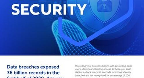 Cognizant MBG GO Identity Security 2021 Flyer