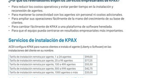 KPAX Business Services Esp