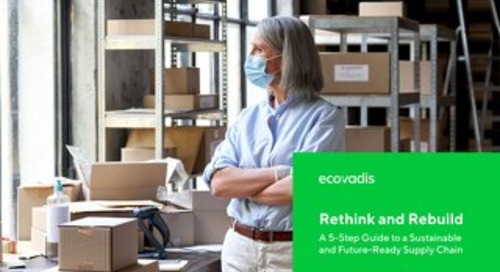Rethink and Rebuild Your Supply Chain