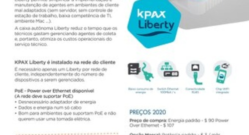KPAX Liberty Info Sheet Brazil