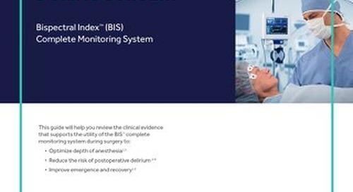 Bispectral Index™ (BIS) - Clinical Evidence Guide