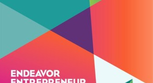 2013 Endeavor Entrepreneur Summit Program