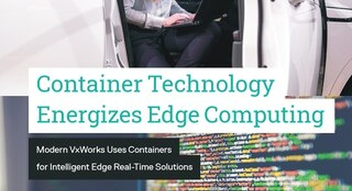 Container Technology Energizes Edge Computing