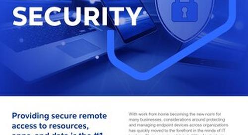 GO Endpoint Security 2021 - Flyer - Cognizant MBG