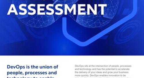 GO DevOps Assessment 2021 - Flyer - Cognizant MBG