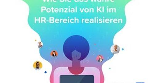 Wie Sie das wahre Potenzial von KI im HR-Bereich realisieren.