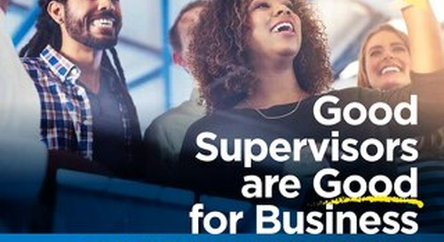 Good Supervisors are Good for Business