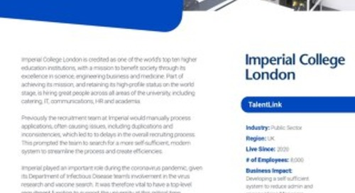 Case Study Imperial College London