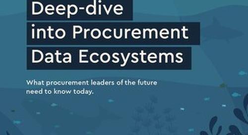 """""""Deep Dive"""" sur les systèmes d'approvisionnement connectés -Initiative Sievo"""
