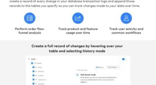 History Mode for Databases