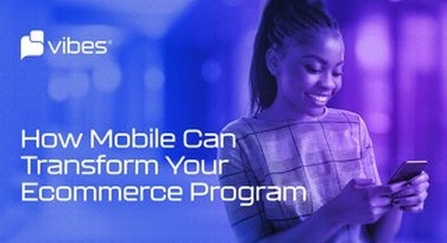 Vibes Guide to Mobile Marketing for Ecommerce