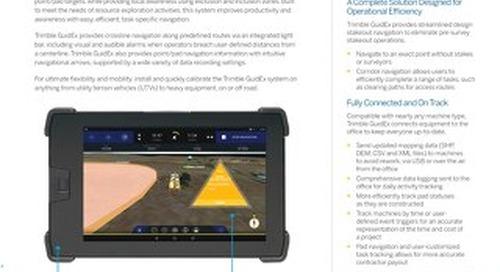Trimble GuidEx Machine Guidance System Datasheet