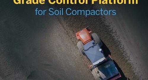 Trimble Earthworks Grade Control Platform for Soil Compactors Datasheet - English