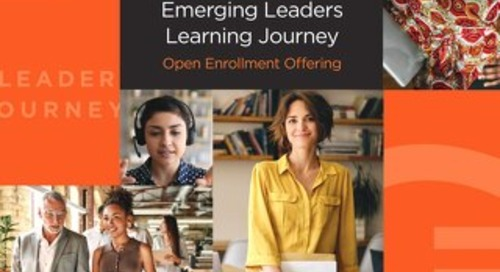CEG Emerging Leaders Journey 2021 Open Enrollment