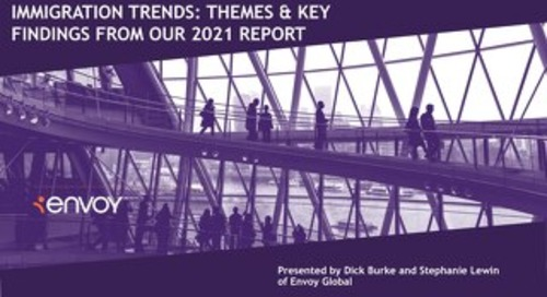[Slidedeck] Immigration Trends: Themes & Key Findings From our 2021 Report
