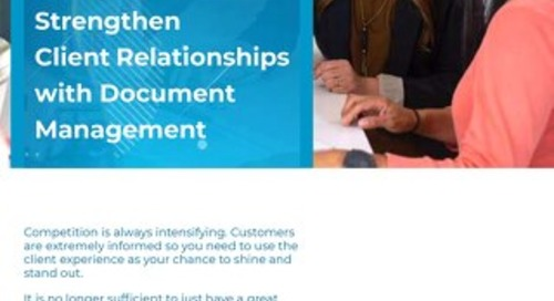 Fem metoder som styrker kunderelasjoner gjennom dokumentstyring