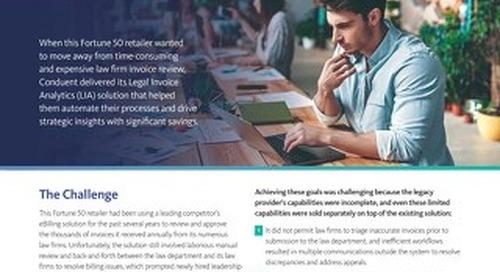 Case Study: Legal Invoice Analytics (LIA)