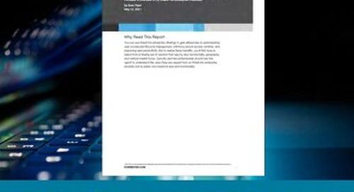 Now Tech: IDaaS For Enterprise, Q2 2021
