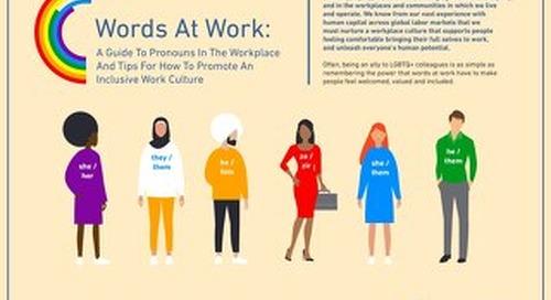 LGBTQ+ Inclusive #WordsatWork Guide