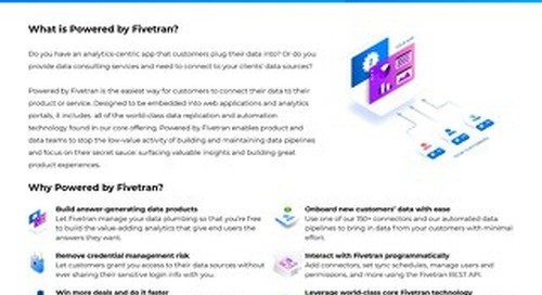 What is Powered by Fivetran?
