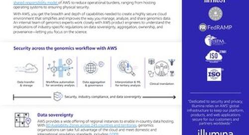 AWS Genomics Cloud Security Executive Brief