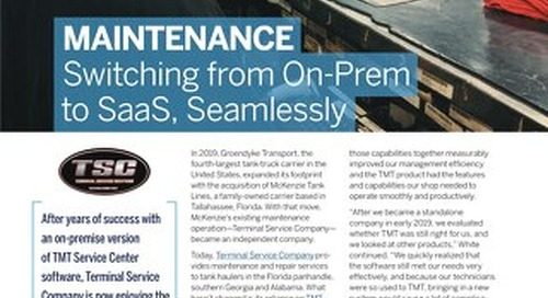Maintenance: Switching from On-Prem to SaaS, Seamlessly
