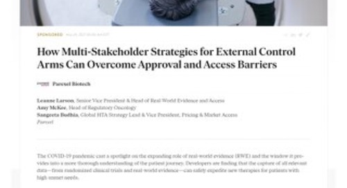 Multi-stakeholder strategies for external control arms