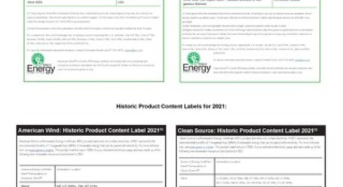 Green-e Energy Product