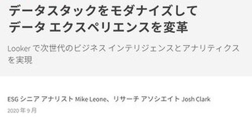 ESG White Paper_Looker_Sep2020 Japanese