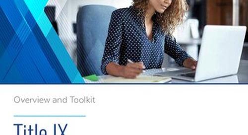 Lozano Smith Title IX Toolkit