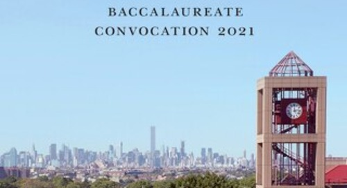 Baccalaureate Convocation Celebration Booklet
