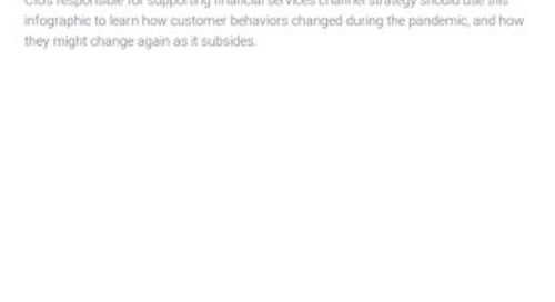 Infographic The Future of Retail Bank Customer Channel Behavior
