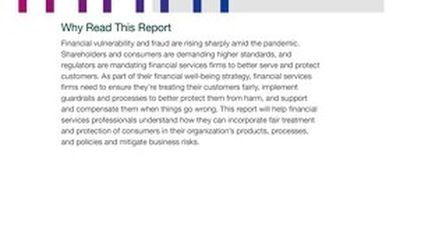 How Financial Services Firms Can Better Protect Customers