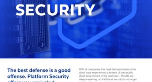 Cognizant MBG GO Platform Security 2021 Flyer