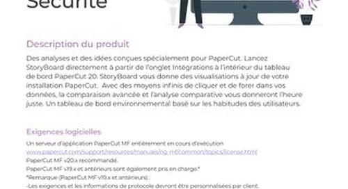 StoryBoard Data Security en Français