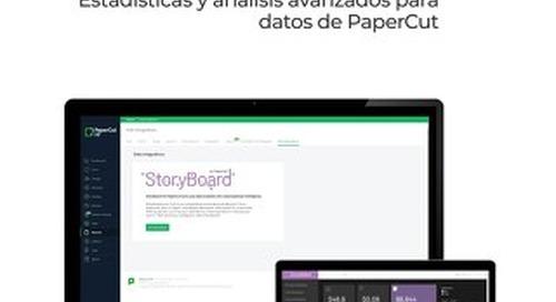 StoryBoard para PaperCut Descripción general
