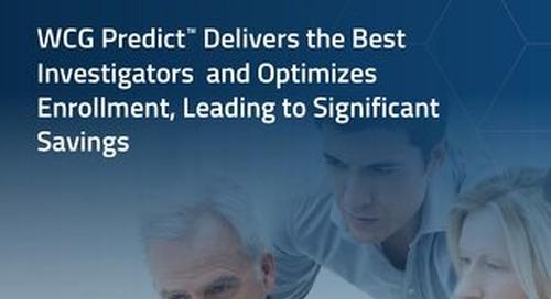 Whitepaper - WCG Predict Analysis of MDD Study