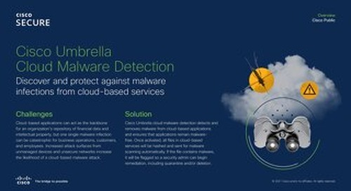Cloud Malware Detection Feature Brief