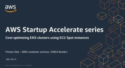 AWS Startup Accelerate May 11th