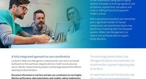 Midas Case Management Overview