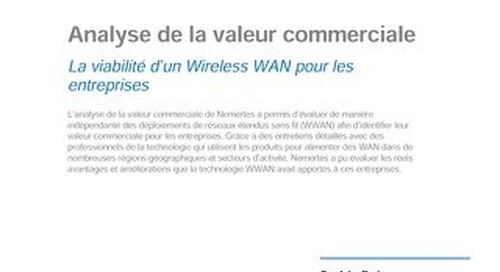 Viabilité d'un WAN sans fil pour les entreprises