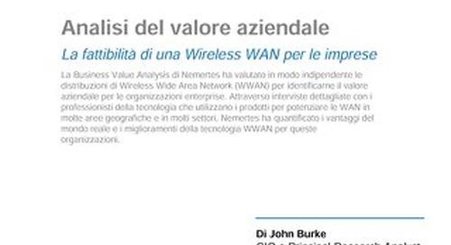 Utilizzo della WAN wireless per il business