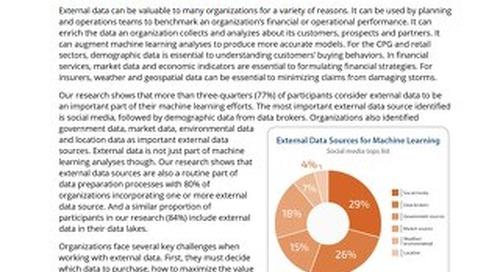 Ventana Research Viewpoint: Better Insights with External Data