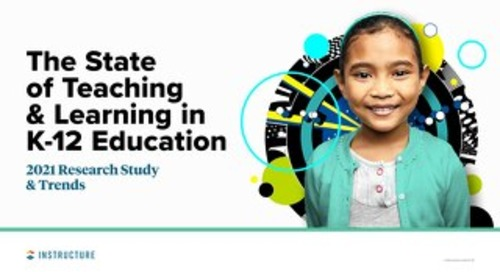 The State of Teaching and Learning in K-12 Education