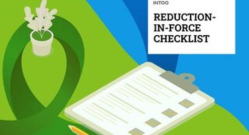Intoo - RIF Checklist