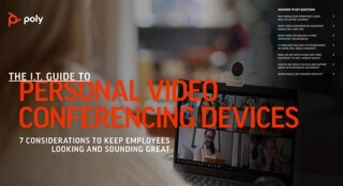 Poly Guide to Personal Video Conferencing