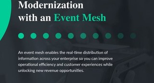 Enabling Payments Modernization with an Event Mesh