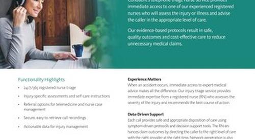 Stratacare® Nurse First Response